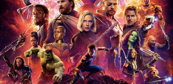 Мстители: Война бесконечности в 3D